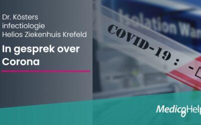 Dr. Kösters, Helios Klinikum over Corona