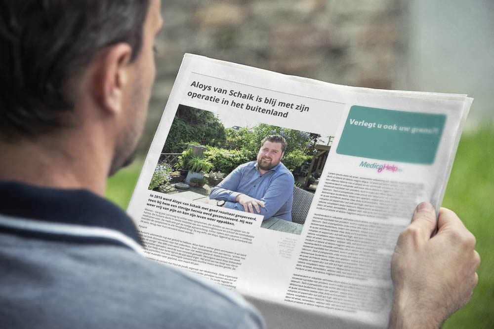 MedicoHelp in de krant